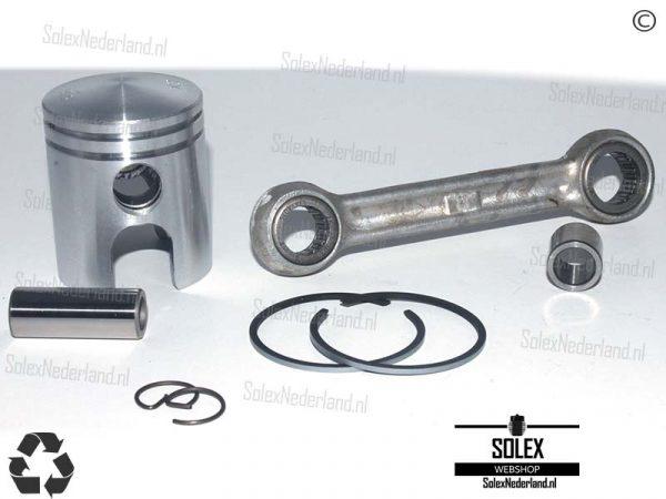 Zuiger Drijfstang voor Stalen cilinder