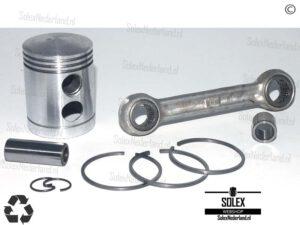 Solex Drijfstang met Basic Zuiger voor Stalen cilinder